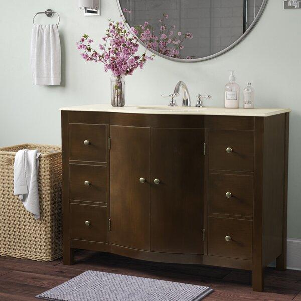 Bissette 48 Single Bathroom Vanity Set by Andover Mills