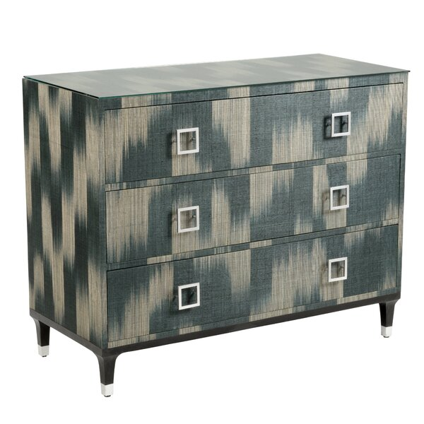 Florence 3 Drawer Accent Chest by Wildwood
