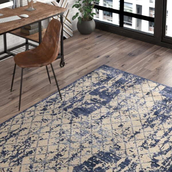 Londono Ivory/Navy Area Rug by Trent Austin Design