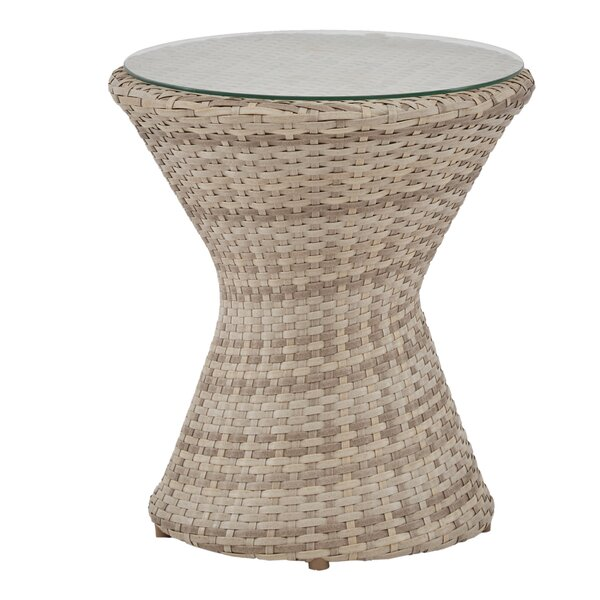 Pantoja Side Table by Bungalow Rose