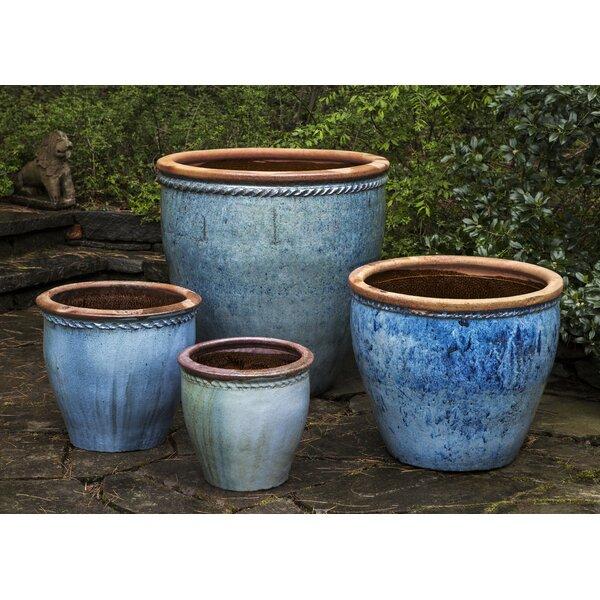 Ary 4 Piece Terracotta Pot Planter Set by Bungalow Rose