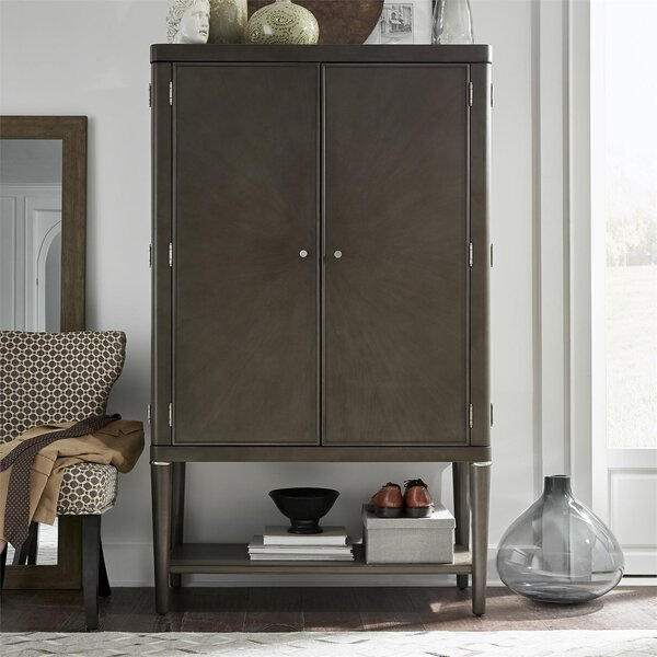 Michaelson Wardrobe Armoire by Canora Grey