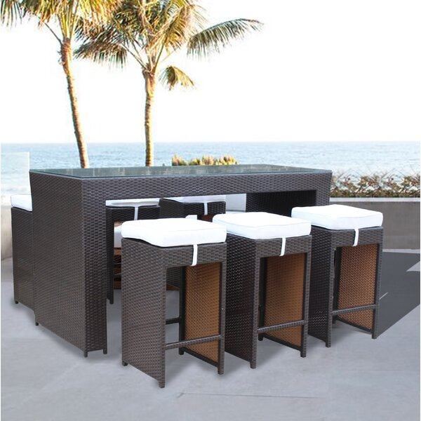 Dutil 7 Piece Dining Set by Brayden Studio