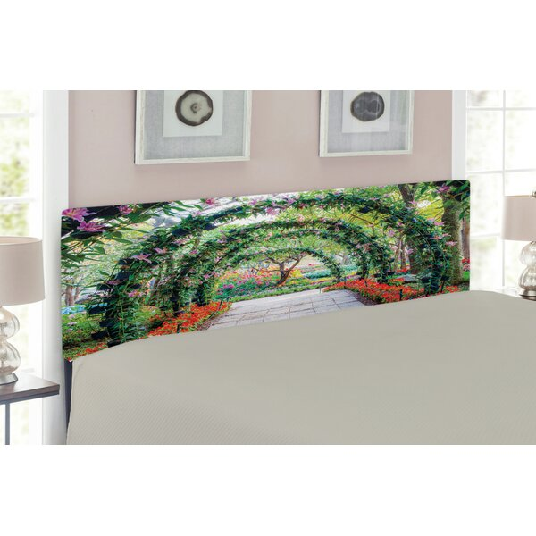Garden Upholstered Panel Headboard by East Urban Home