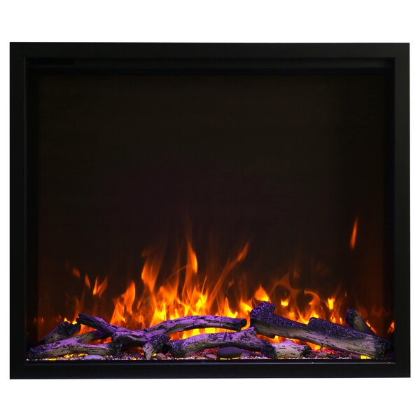 Recessed Wall Mounted Electric Fireplace By Latitude Run