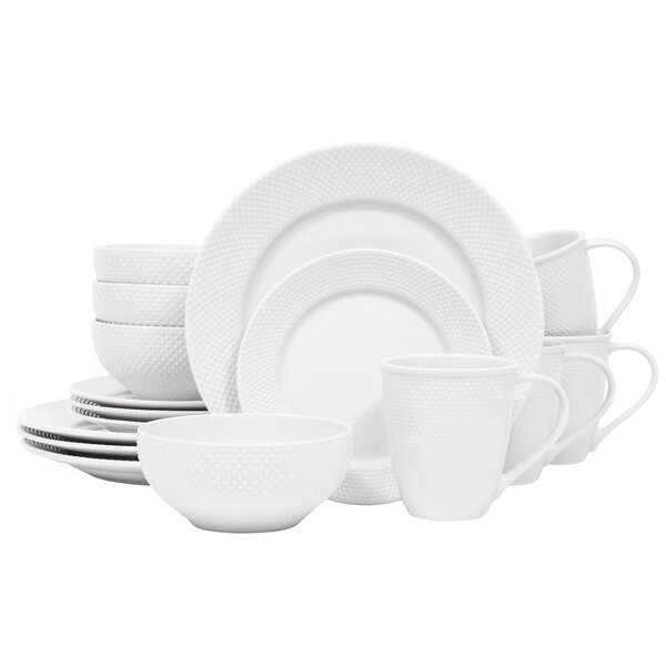 Callista 16 Piece Dinnerware Set, Service For 4 by Sango