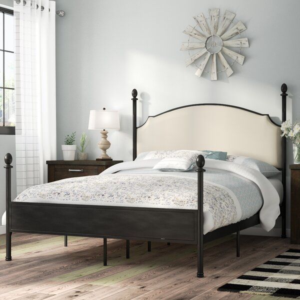 Modern  Granite Range Upholstered Four Poster Bed By Laurel Foundry Modern Farmhouse Wonderful