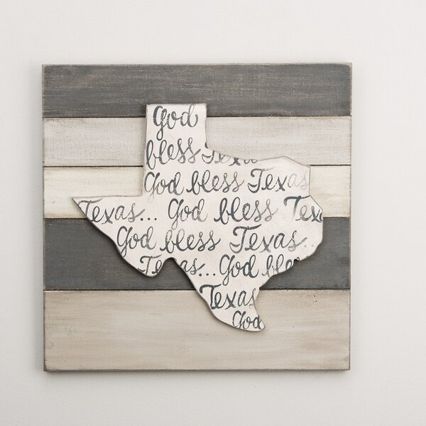Texas Textual Art by Glory Haus