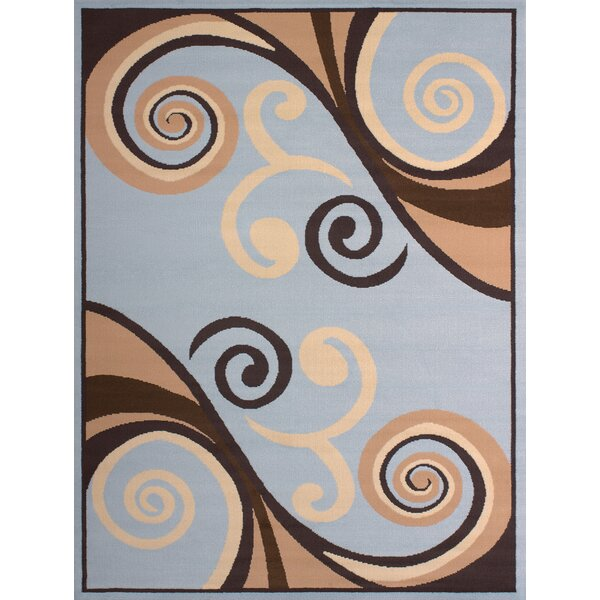 Dallas Billow Blue Area Rug by United Weavers of America