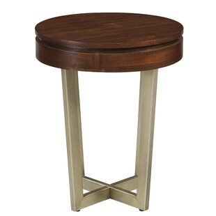 Check Prices Figueroa Midnight End Table ByWilliston Forge