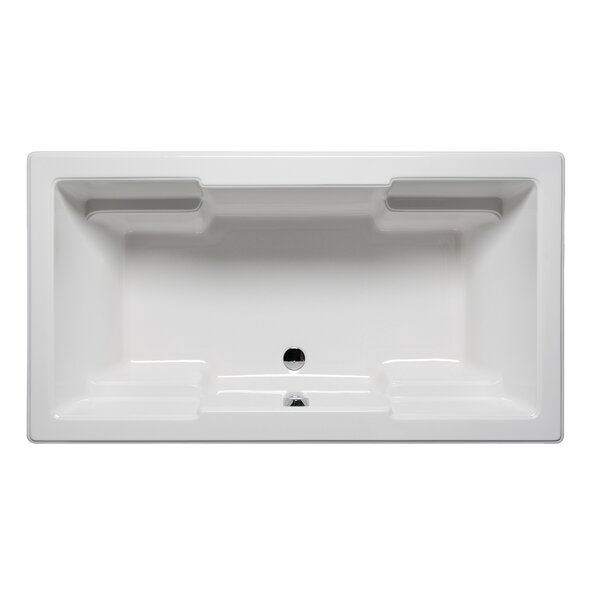 Quantum 72 x 36 Drop in Soaker Bathtub by Americh