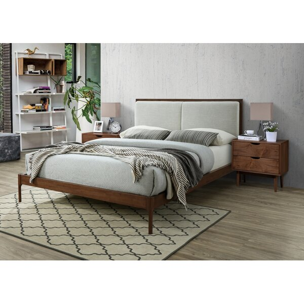 Stian Upholstered Platform Bed by Foundry Select