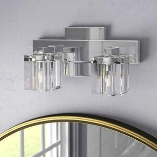 Ivy Bronx Bathroom Vanity Lighting Youll Love Wayfair - Bathroom vanity lights facing up or down