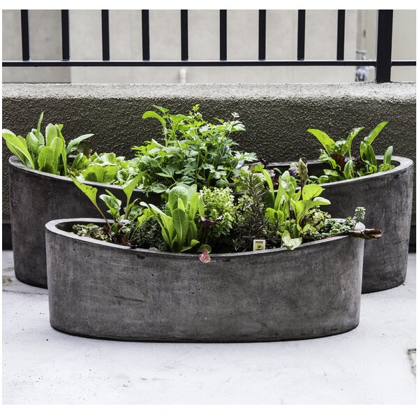 Yano 2-Piece Composite Pot Planter Set by My Spirit Garden