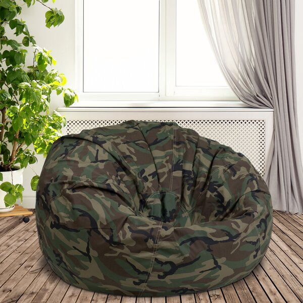 Large Classic Bean Bag By Zoomie Kids