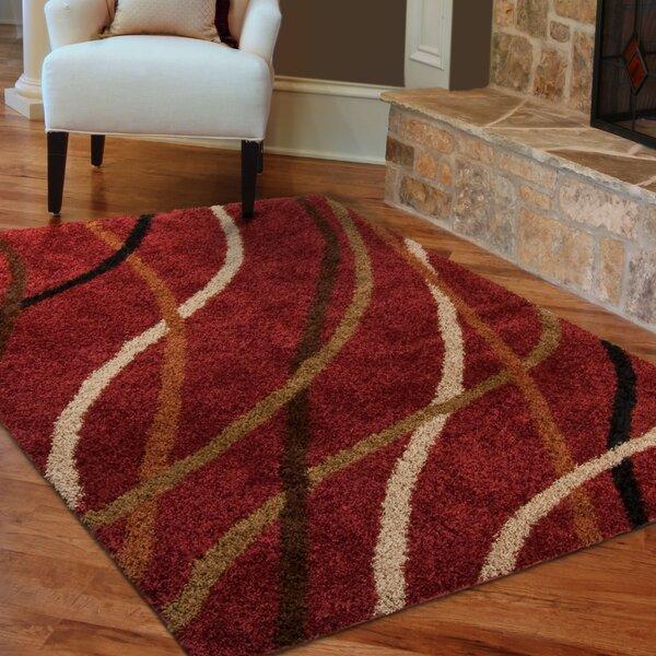 red area rug by allstar rugs wayfair