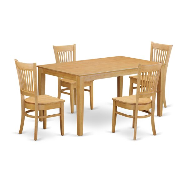 Smyrna 5 Piece Dining Set by Charlton Home Charlton Home