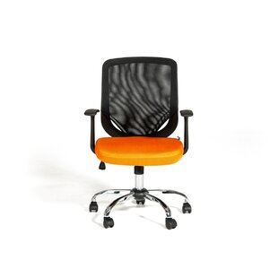 Review Cristy Adjustable Height Swivel Mesh Desk Chair by Ebern Designs