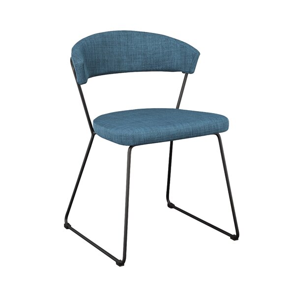 Calvin Upholstered Dining Chair (Set of 2) by Mercury Row