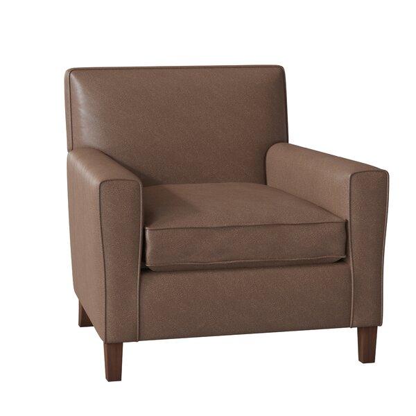Gormley Leather Armchair By Wayfair Custom Upholstery™