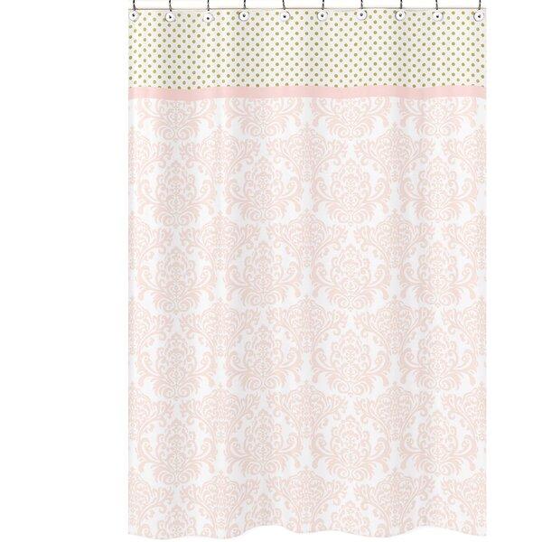 Amelia Cotton Shower Curtain by Sweet Jojo Designs