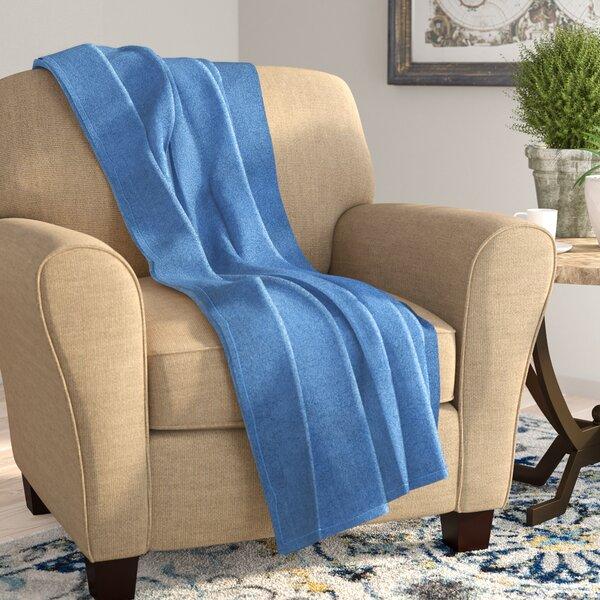 Corbett All Season Super Plush Luxury Fleece Throw Blanket by Charlton Home