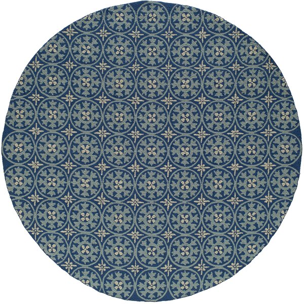 St James Blue Outdoor Rug by Charlton Home