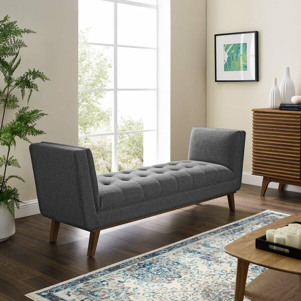 Tamela Upholstered Bench By Wrought Studio by Wrought Studio Great price