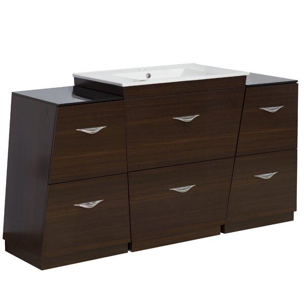 Kao Floor Mount 60 Single Bathroom Vanity Set by Royal Purple Bath Kitchen