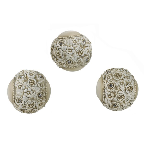 Enora Decorative Orb (Set of 3) by One Allium Way