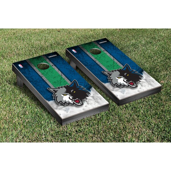 NBA Vintage Version Cornhole Game Set by Victory T