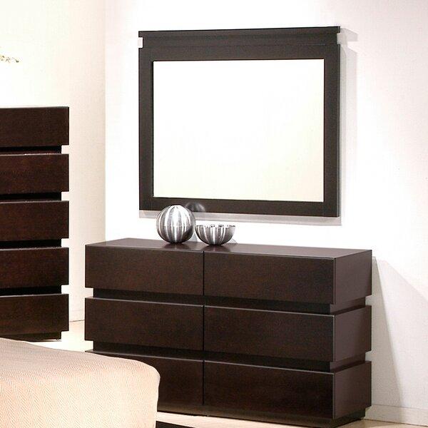 Godin Rectangular Dresser Mirror by Brayden Studio