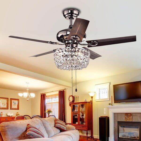 43 Aslan 5 Blade Ceiling Fan by Astoria Grand