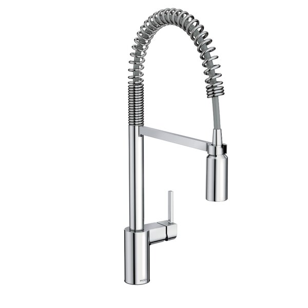 Align Pull Down Single Handle Kitchen Faucet with Duralock™ by Moen