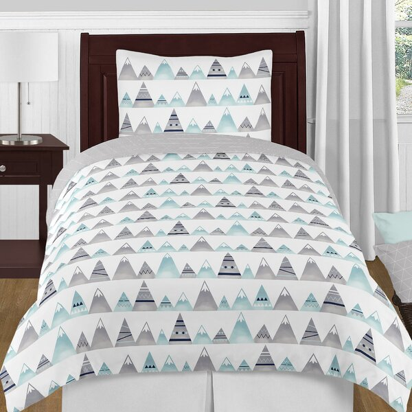 Mountains 4 Piece Twin Comforter Set by Sweet Jojo Designs