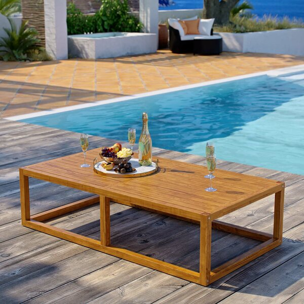 Ringler Premium Grade A Teak Coffee Table by Highland Dunes