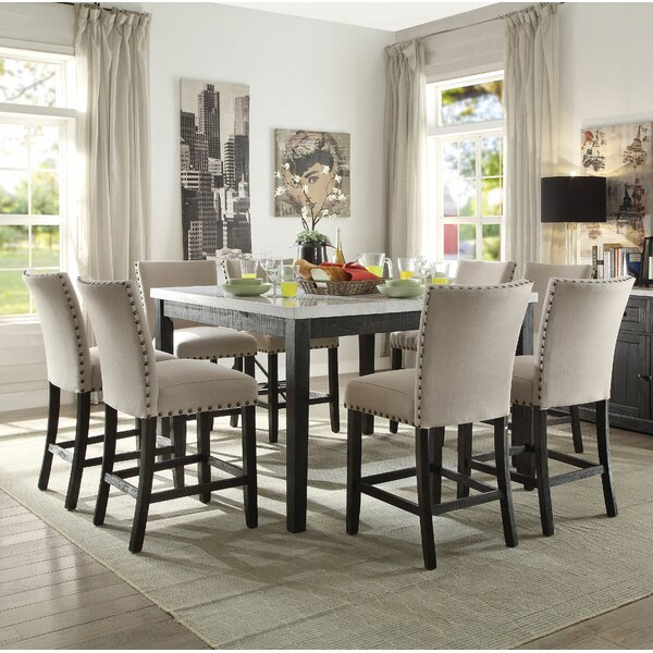 Jeannie 9 Piece Pub Table Set By Canora Grey Today Only Sale