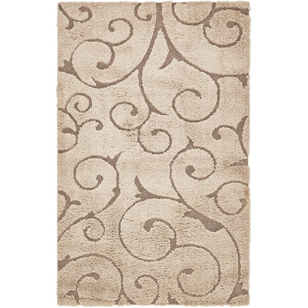 Triggs Brown Area Rug by Charlton Home