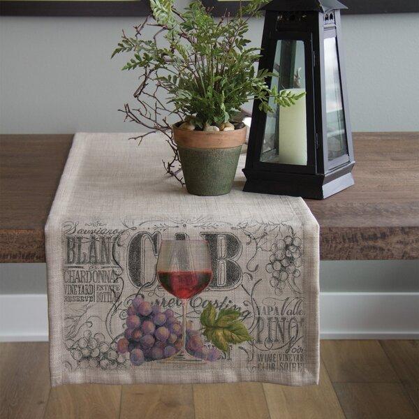 Blake Wine Country Table Runner by Fleur De Lis Living
