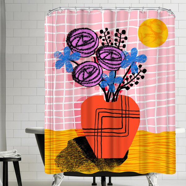 Wacka Designs Just Kidding Shower Curtain by East Urban Home