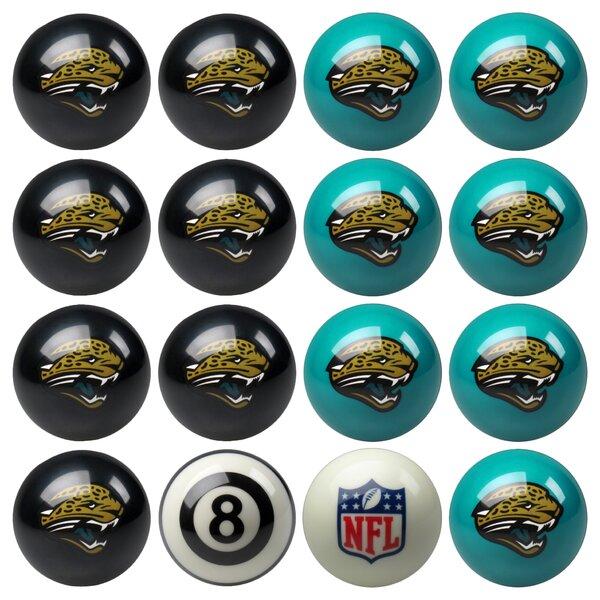 16 Piece NFL Billiard Ball Set by Imperial International