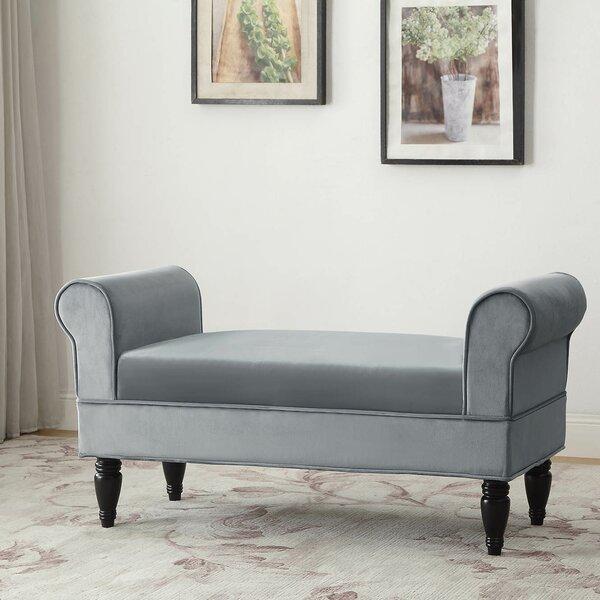 Baez Upholstered Bench By Lark Manor