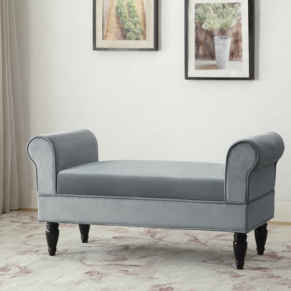 Free S&H Baez Upholstered Bench