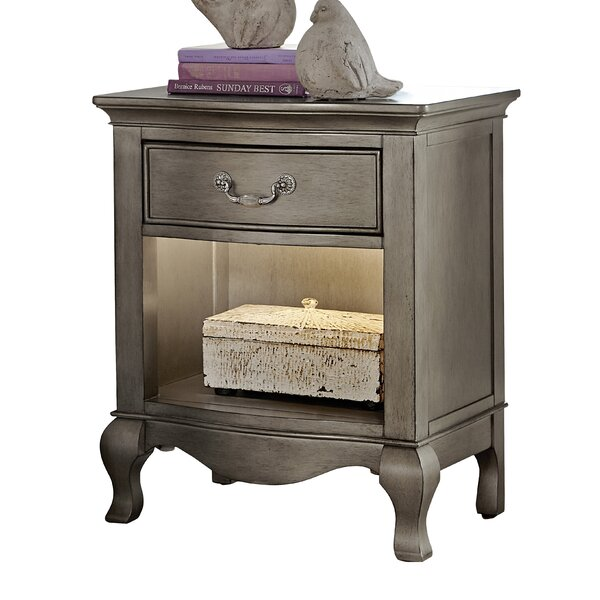 Troutdale 1 Drawer Nightstand By Greyleigh by Greyleigh Cheap