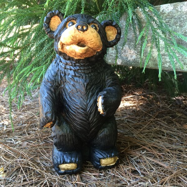 Call of the Wild Standing Bear Statue by HomeStyles