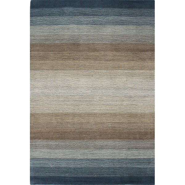 Hawkinson Hand-Woven Wool Area Rug by Ebern Designs