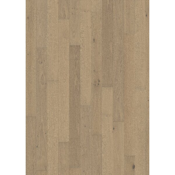 Classic Nouveau 7-3/8 Engineered Oak Hardwood Flooring in White by Kahrs