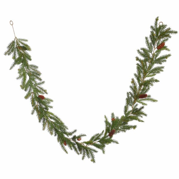Spruce Artificial Christmas Garland Unlit by Alcott Hill