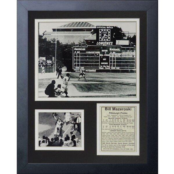 Bill Mazeroski Framed Memorabilia by Legends Never Die