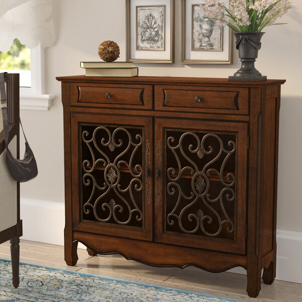 Mauzy 2 Door Accent cabinet by Lark Manor Lark Manor
